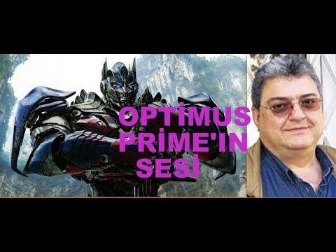 Ben Optimus Prime / AYHAN KAHYA / SESLENDİRME SANATÇISI / İŞTE O SES