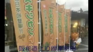 2016年のクリスマスより、阪和道上下線の岸和田サービス・エリアで西日...