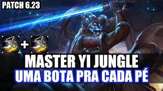 MASTER YI JUNGLE - DESAFIO ~ FULL ATACK SPEED ~ PATCH 6.23