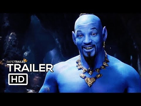 Jeff K - First Look: Will Smith As The Genie In Aladdin
