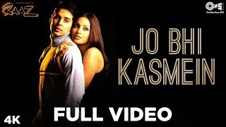 Download Mp3 Jo Bhi Kasmein Full Video - Raaz | Bipasha Basu & Dino Morea | Udit Narayan