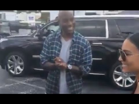 Tyrese Helps Surprise Ludacris Wife With A New Benz Truck