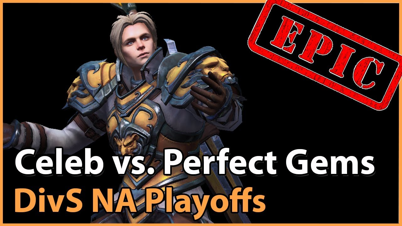 ► Perfect Gems vs. Celeb Gaming - Division S NA Playoffs - Heroes of the Storm Esports