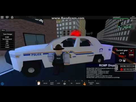 Roblox- RCMP northside Patrol WIth DisamondCreeperPlayz- Flase Alarm