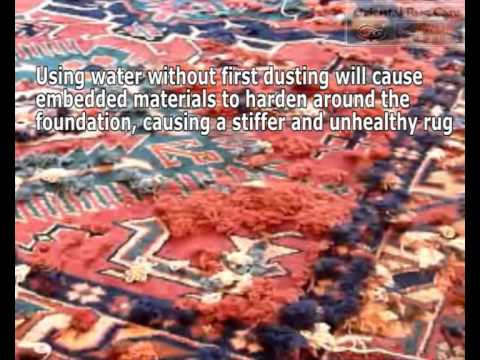 How To Washing A Rug By Expert Rug Cleaners Youtube