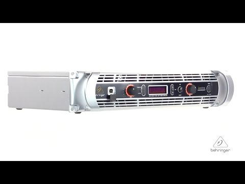 iNUKE NU6000DSP Ultra-Lightweight, High-Density 6000-Watt Power Amplifier