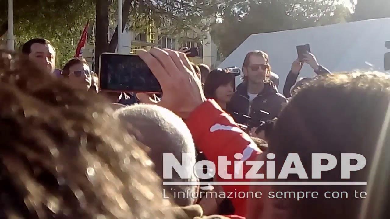 Ideal Standard Roccasecca.Matteo Salvini Ideal Standard Roccasecca