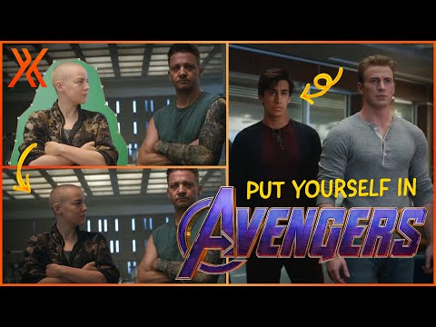 How to put yourself into the Avengers