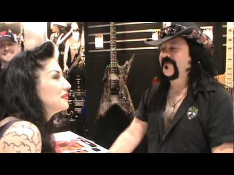 Villie Paul at NAMM 2012 with Metal Sanaz
