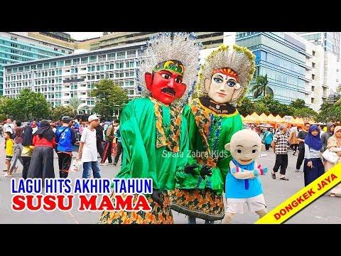 Enak Susu Mama versi Ondel ondel & Badut IPIN