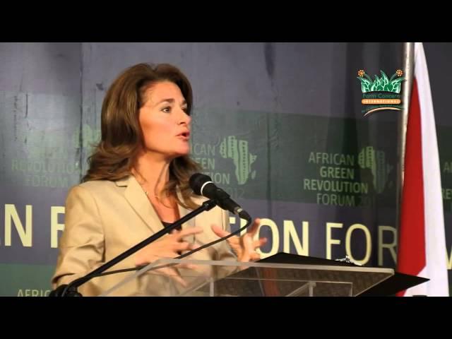 AGRF 2012 - Mrs  Melinda Gates, African Green Revolution Forum, Arusha Tanzania
