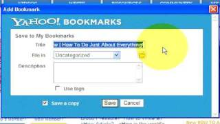 Internet Guide : How to Bookmark a Web Page