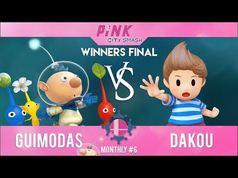 Pink City Smash Monthly 6 – Dakou (Lucas) VS Guimodas (Olimar) – Winner Final