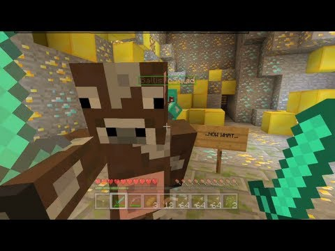Minecraft Xbox - The Infected Temple - The Treasure - Part 6