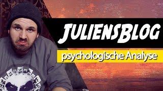 🚂 JuliensBlog • Psychologische Analyse: Realitätscheck, Werthaltung, Humor