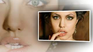 usa film maker Angelina jolie with her shiny face and attractive eyes