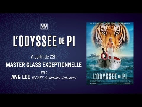 Retransmission en Live de la Master Class d'Ang Lee - FR