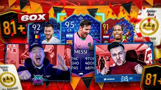 FIFA 21: 60x 81+ PLAYERPICK PACK BATTLE Endet in Demütigung 😱 vs IconBROTHER
