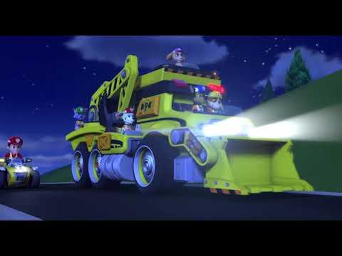 Щенячий патруль и Вспыш и чудо-машинки - Русский трейлер (дублированный) 1080p