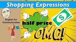 Shopping Expressions - Store Language | English For Communication - ESL