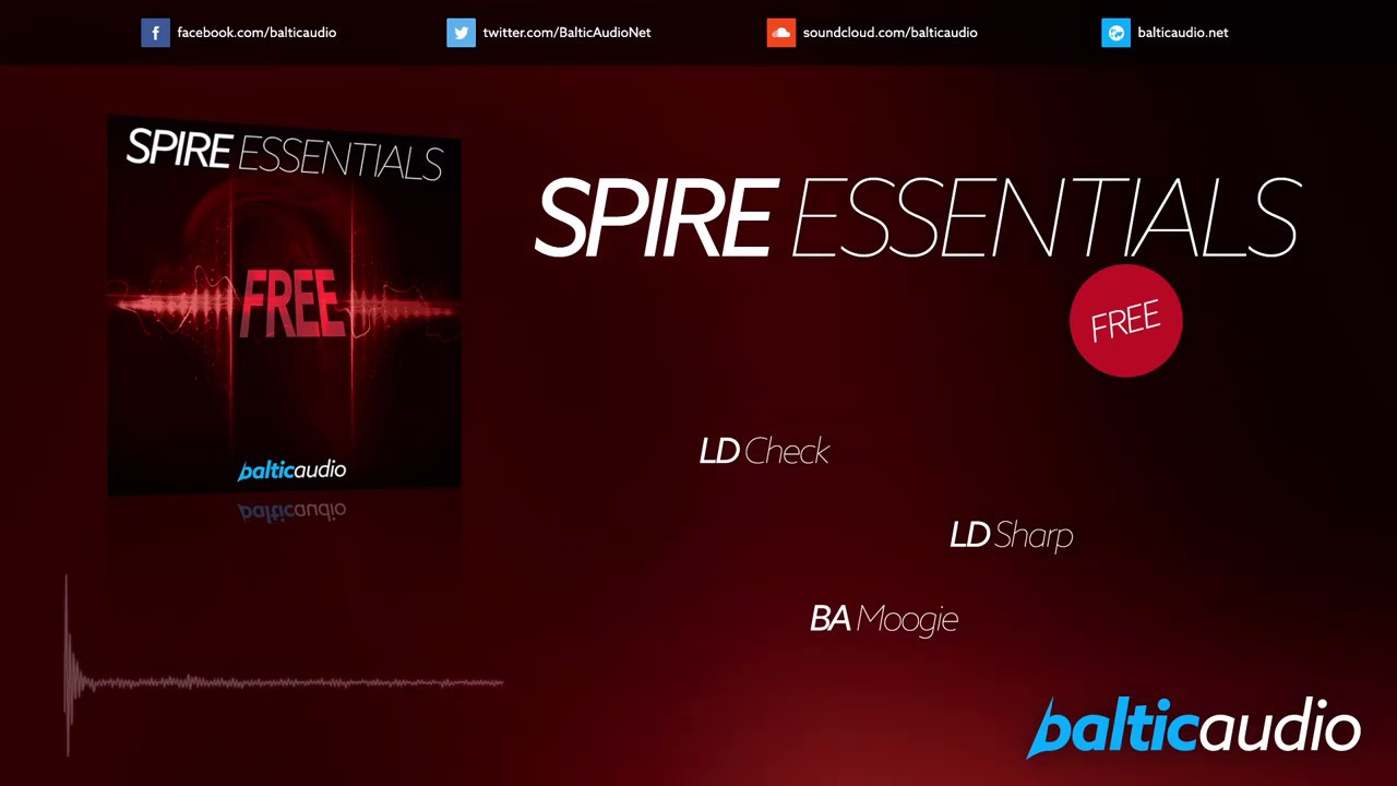 Spire Free Essentials (20 Spire Presets, 15 MIDI Files, Free Download)