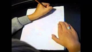 How to draw Principal Skinner