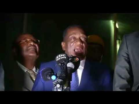 Mnangagwa Speech to Zanu PF Supporters 22 Nov 2017