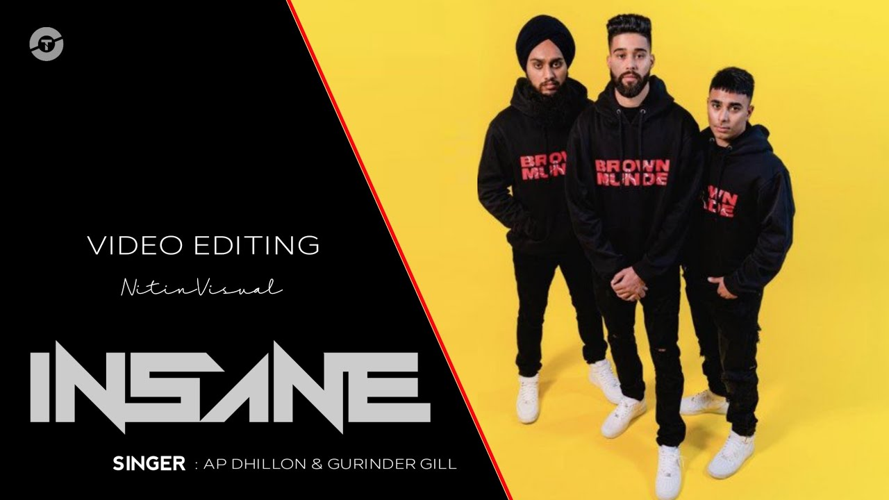 Download Insae Ap Dhillon (Remix) Nitin Visual Music Video Official 2021