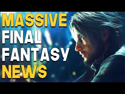 MASSIVE Final Fantasy NEWS and INSANE PS4 Game DEALS!