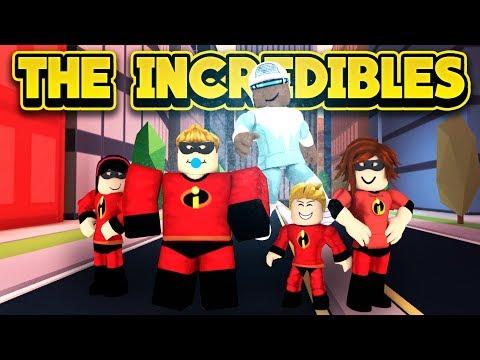 THE INCREDIBLES 2 IN JAILBREAK! (ROBLOX Jailbreak)