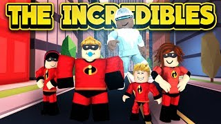 THE INCREDIBLES 2 IN JAILBREAK! (ROBLOX Jailbreak)