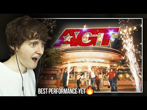 """BEST PERFORMANCE YET! (BTS Performs """"Dynamite"""" on AGT 