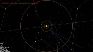 C/2012 S1 (ISON) - track from SOHO spacecraft