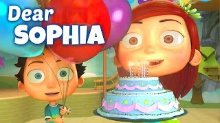 Happy Birthday Song to Sophia