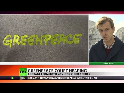 Eco-Pirates? Greenpeace activists charged with piracy over oil rig protest