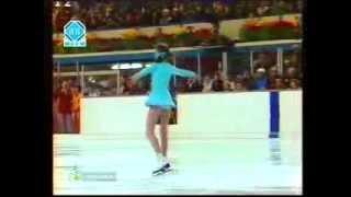 Елена Водорезова Олимпиада 1976, произвольная программа