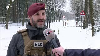 Helikopteroefening Edese Heide (EDE TV Nieuws 28-01-2019)