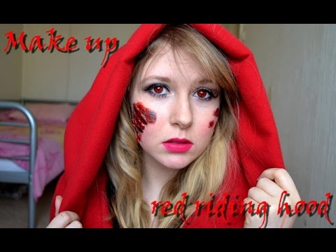 halloween maquillage le petit chaperon rouge red riding hood youtube. Black Bedroom Furniture Sets. Home Design Ideas