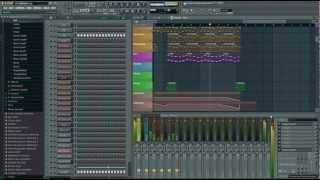 Alphabeat  - David Guetta FL Studio remake + FLP