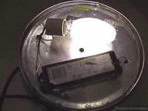 Mercury vapor light fixture build + test