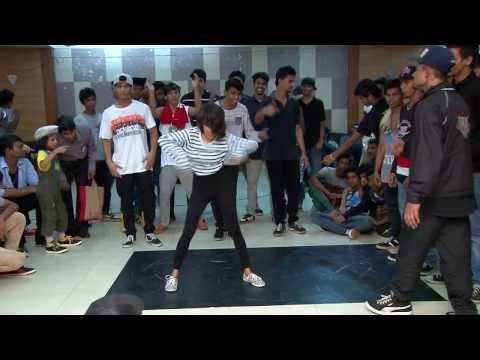 All Style 3 way battle at Hip-Hop Hustle
