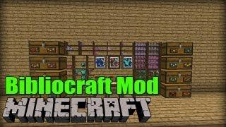 EPISCHE INNENEINRICHTUNG: Bibliocraft - Minecraft Mod