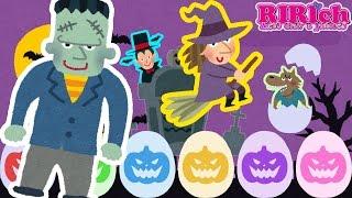 【ハロウィン】たまごのおもちゃアニメ りりちゃんねるの動画では たま...
