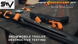 Snowmobile Trailer Destructive Testing