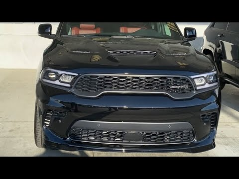 2021 Dodge Durango Hellcat: What the Jeep Trackhawk coud have been - Mr Blacktop