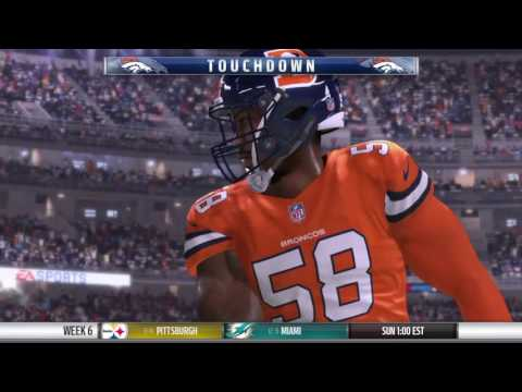 Bronco defense highlights Madden