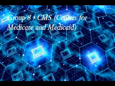 Group 8   CMS Centers for Medicare and Medicaid Services (HS 285 - Taylor)