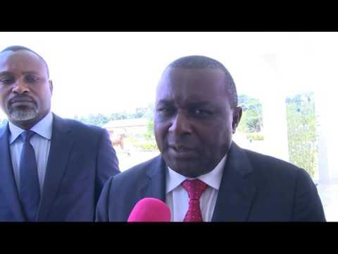 Réunion du Comité Monétaire et Financier National du Congo à Ollombo (Congo)