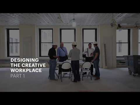 Designing the Creative Work Place, Part One