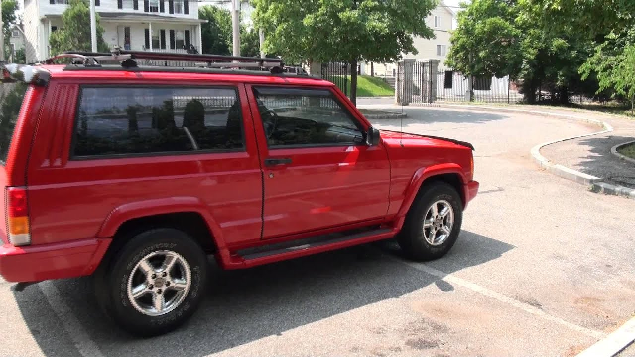 1997 Jeep Cherokee 4.0 2 Door 4x2 Sport   YouTube